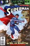 Superman Vol 4 #13 Regular Kenneth Rocafort Cover (Hel On Earth Prelude)