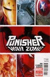 Punisher War Zone Vol 3 #1 1st Ptg