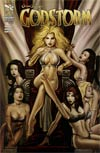 Grimm Fairy Tales Presents Godstorm #1 Cover B Keu Cha
