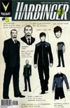 Harbinger Vol 2 #5 Variant David Aja Character Design Cover