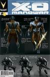 X-O Manowar Vol 3 #6 Variant Jelena Kevic-Djurdjevic Character Design Cover