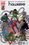 Hawkeye Vol 4 #1 Variant Amazing Spider-Man 50th Anniversary Cover