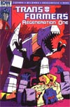 Transformers Regeneration One #82 Incentive Geoff Senior Variant Cover