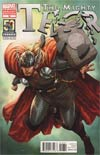 Mighty Thor #18 Variant Thor 50th Anniversary Cover (Everything Burns Prologue)
