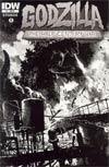 Godzilla Half-Century War #1 Incentive Frank Teran Variant Cover