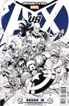 Avengers vs X-Men #10 Incentive Nick Bradshaw Sketch Cover
