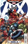 Avengers vs X-Men #10 Cover F Incentive Nick Bradshaw Variant Cover