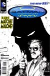 Batman Incorporated Vol 2  #3 Cover B Incentive Chris Burnham Sketch Cover