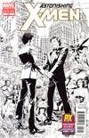 Astonishing X-Men Vol 3 #51 SDCC 2012 Retailer Exclusive Dustin Weaver Sketch Cover