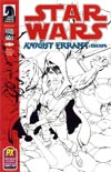 Star Wars Knight Errant Escape #1 SDCC 2012 Retailer Exclusive Benjamin Carre Sketch Cover