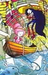 Adventure Time Marceline And The Scream Queens #1 SDCC 2012 Retailer Exclusive Variant Cover