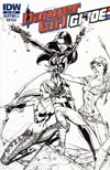 Danger Girl GI Joe #2 Incentive J Scott Campbell Sketch Cover