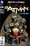 Batman Vol 2 #14  Regular Greg Capullo Cover (Death Of The Family Tie-In)