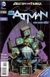 Batman Vol 2 #14  Combo Pack With Polybag (Death Of The Family Tie-In)