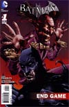 Batman Arkham City End Game  #1 Cover A Regular Jason Shawn Alexander Cover