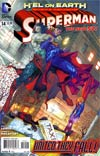 Superman Vol 4 #14 Regular Kenneth Rocafort Cover (Hel On Earth Part 4)