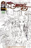 Darkness Vol 3 #100 Cover F Emerald Knights Exclusive Variant Cover Signed By Marc Silvestri