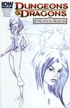 Dungeons & Dragons Forgotten Realms #3 Incentive Character Design Variant Cover