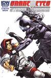 Snake Eyes & Storm Shadow #16 Incentive Robert Atkins Variant Cover