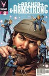 Archer & Armstrong Vol 2 #2 Incentive Patrick Zircher Variant Cover