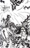 Planet Of The Apes Cataclysm #1 Incentive Joe Quinones Virgin Sketch Cover