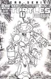 Teenage Mutant Ninja Turtles Micro-Series #8 Fugitoid Incentive David Petersen Sketch Cover