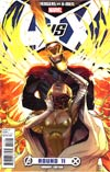 Avengers vs X-Men #11 Incentive Sara Pichelli Variant Cover