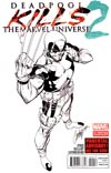Deadpool Kills The Marvel Universe #2 2nd Ptg Variant Cover