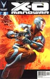 X-O Manowar Vol 3 #5 Incentive Patrick Zircher Interlocking X-O Manowar Variant Cover