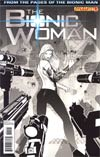 Bionic Woman Vol 2 #4 Incentive Paul Renaud Black & White Cover