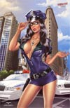 Grimm Fairy Tales Myths & Legends #21 NYCC Exclusive Elias Chatzoudis NYPD Cop Variant Cover