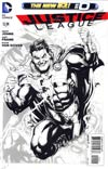 Justice League Vol 2 #0 Incentive Gary Frank Sketch Cover