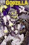 Godzilla Vol 2 #5 Incentive Matt Frank Variant Cover
