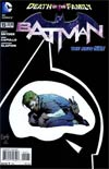 Batman Vol 2 #15 Regular Greg Capullo Cover (Death Of The Family Tie-In)