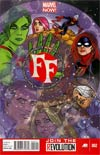 FF Vol 2 #2 Regular Mike Allred Cover