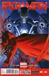 Iron Man Vol 5 #3 1st Ptg Regular Greg Land Cover