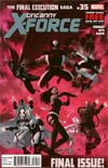 Uncanny X-Force #35 Regular Julian Totino Todesco Cover