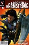 Archer & Armstrong Vol 2 #5 1st Ptg Regular Patrick Zircher Cover