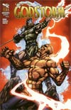 Grimm Fairy Tales Presents Godstorm #3 Cover B Keu Cha