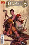 Damsels #4 Regular Joseph Michael Linsner Cover
