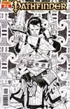 Pathfinder #2 Incentive Matteo Scalera Black & White Cover
