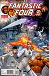 Fantastic Four Vol 3 #611 Variant Final Issue Cover