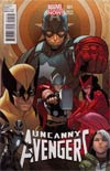 Uncanny Avengers #1 Variant Sara Pichelli Cover