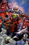 Fanboys vs Zombies #7 Incentive Francisco Herrera Virgin Variant Cover