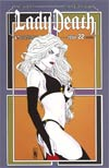 Lady Death Vol 3 #22 Incentive Art Deco Variant Cover