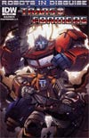 Transformers Robots In Disguise #10 Incentive Marcelo Matere Variant Cover