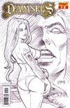 Damsels #2 Incentive Joseph Michael Linsner Sketch Cover