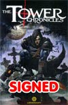 Tower Chronicles Geisthawk Vol 1 GN Incentive Art Book Plate Signed By Matt Wagner & Simon Bisley