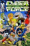 Cyberforce Vol 4 #1 Variant Chris Giarrusso Cover