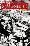 Lone Ranger Snake Of Iron #3 Incentive Dennis Calero Black & White Cover